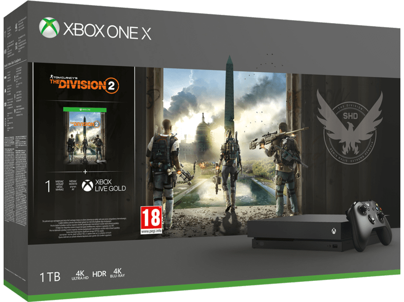 MICROSOFT-Xbox-One-X-1TB-The-Division-2